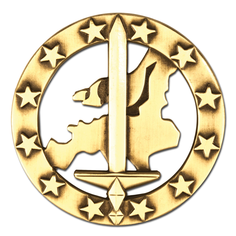 Barettabzeichen Eurocorps