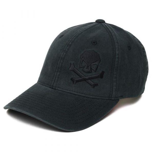 Pipe Hitters Union Cap Skull & Crossbones schwarz