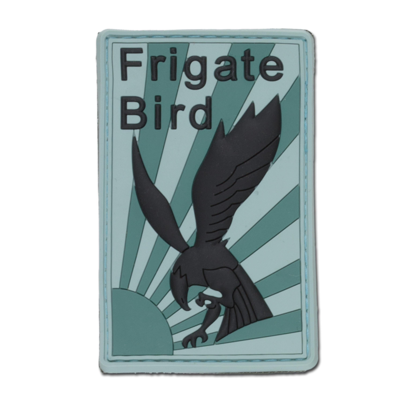 3D-Patch Frigate Bird oliv/grün