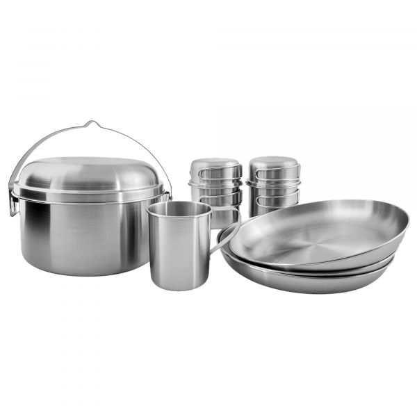 Tatonka Geschirr Picnic Set III stainless steel