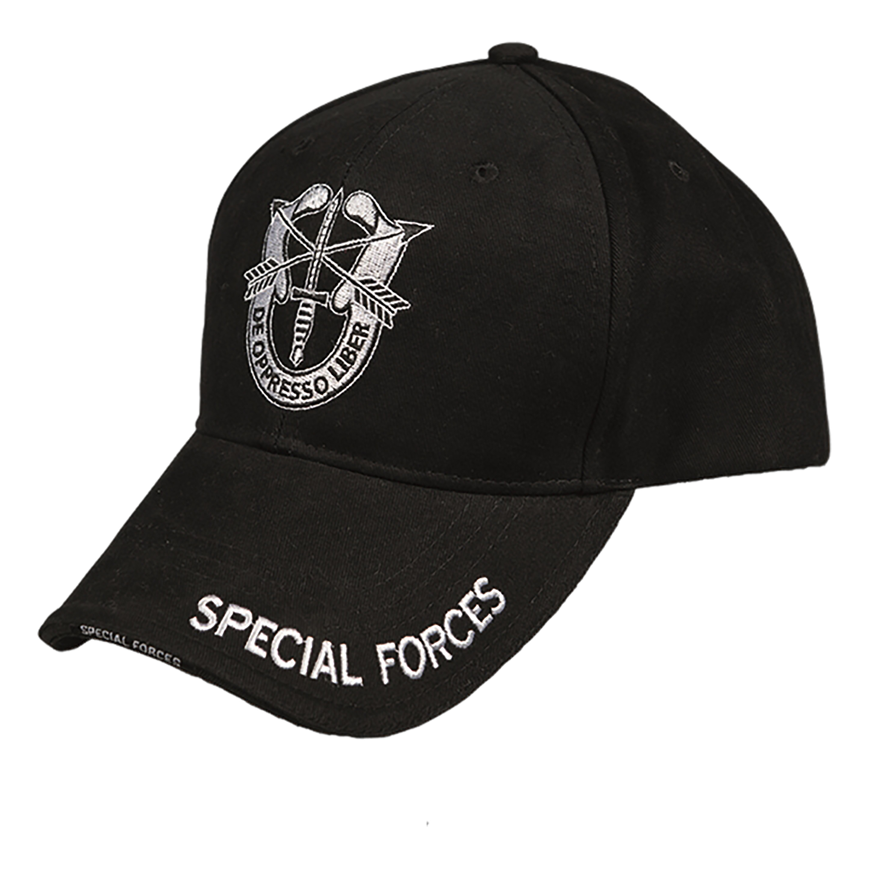 Baseball Cap SPECIAL FORCES schwarz