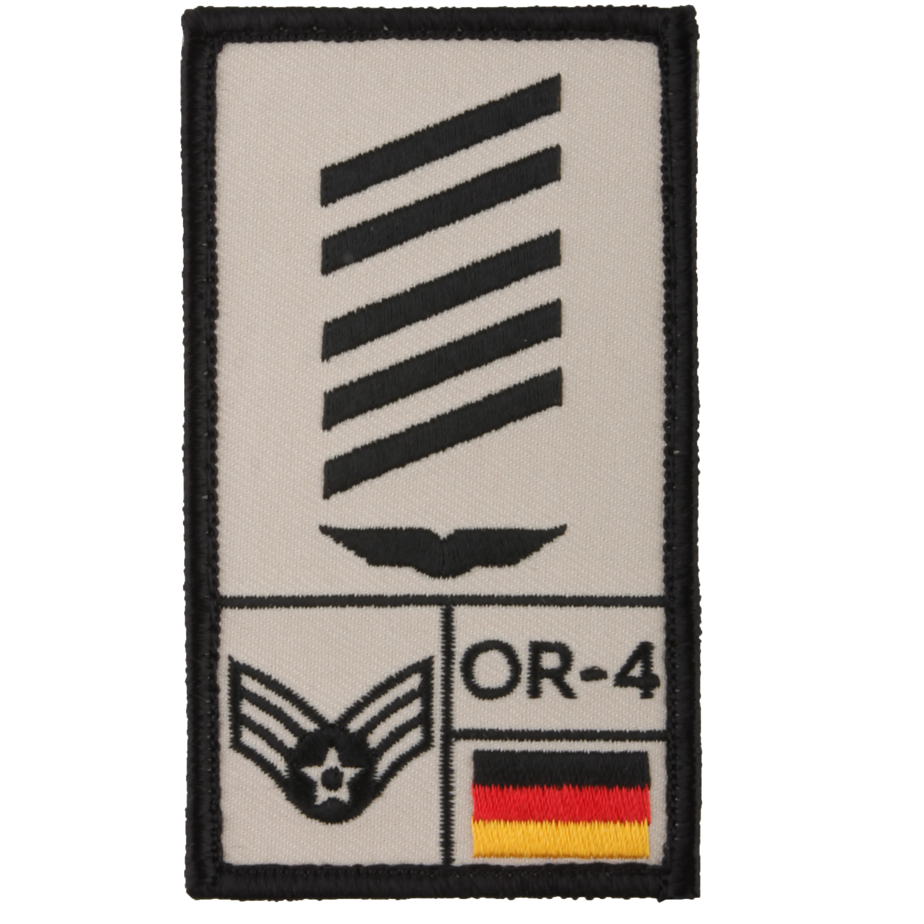 Café Viereck Rank Patch OSG Luftwaffe sand