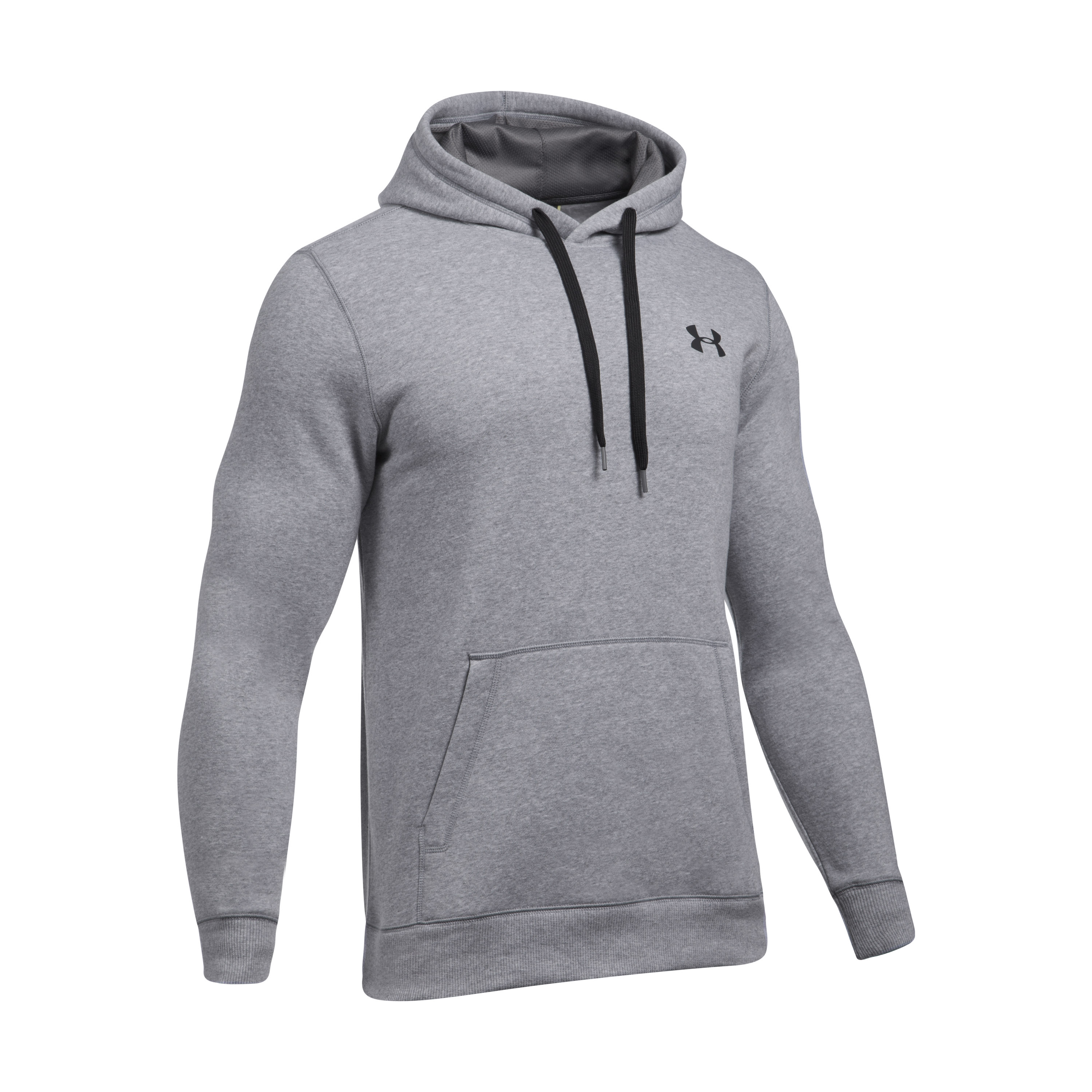Under Armour Hoodie Rival Fitted grau