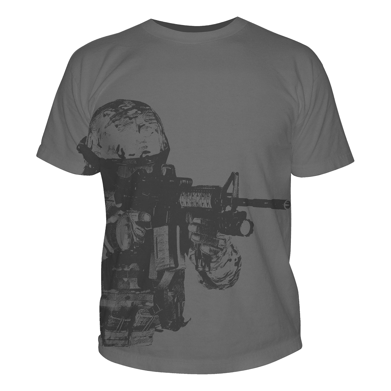5.11 T-Shirt Tactical Camo Logo schwarz