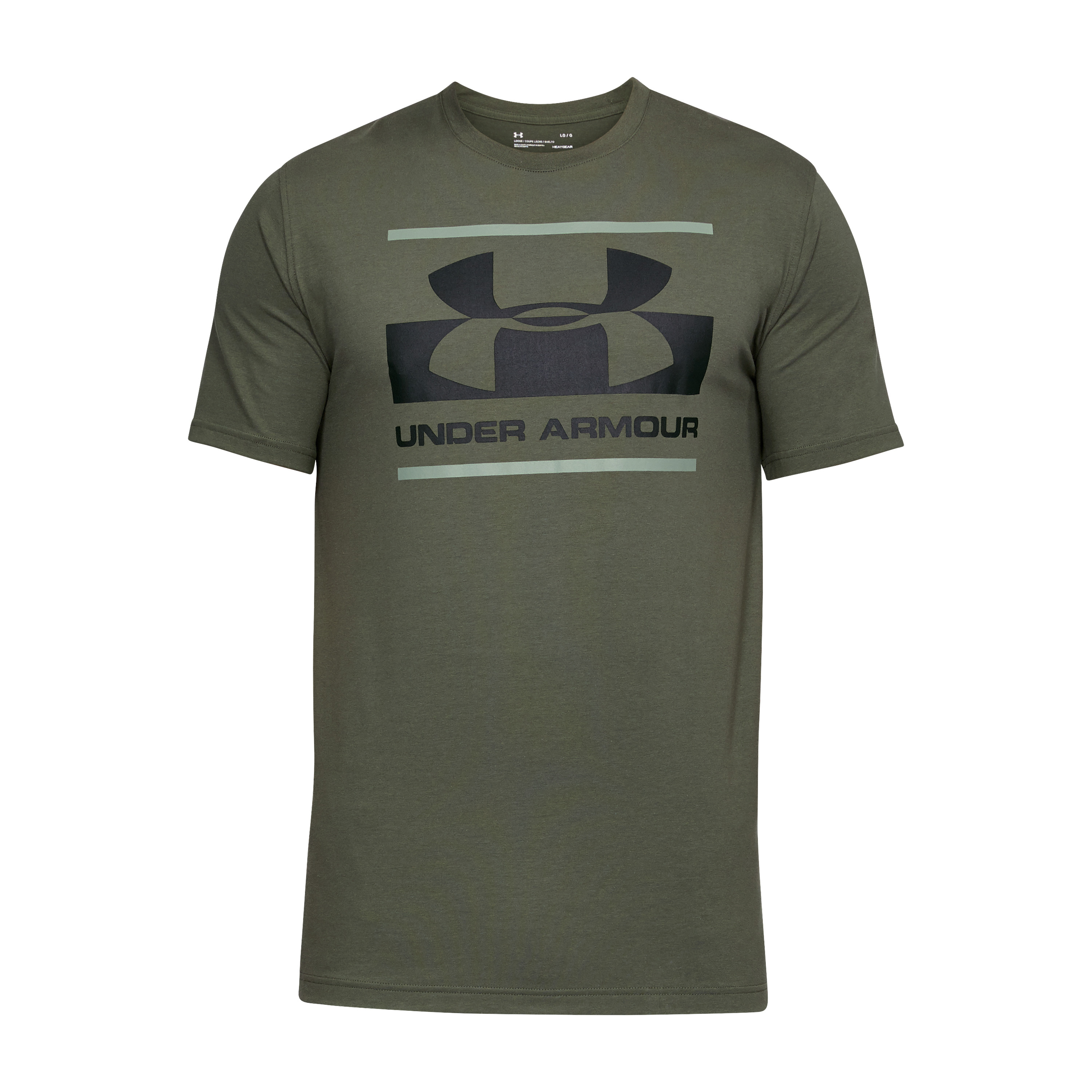 Under Armour Shirt Blocked Sportstyle oliv