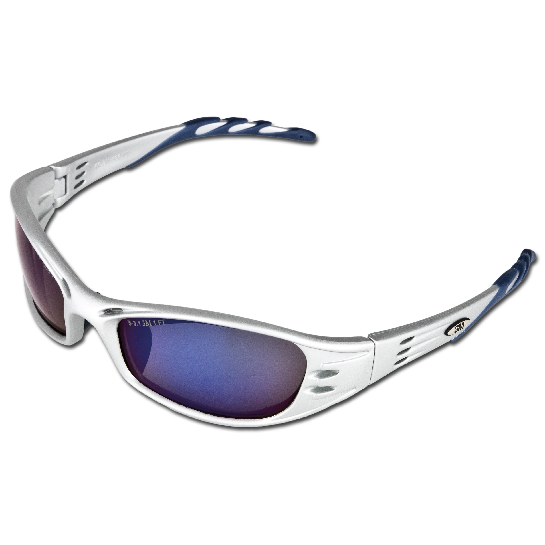 Schutzbrille 3M Fuel blau verspiegelt