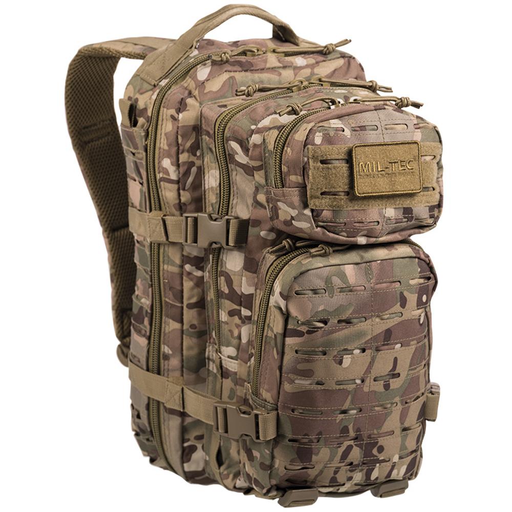 Rucksack US Assault Pack SM Laser Cut multitarn