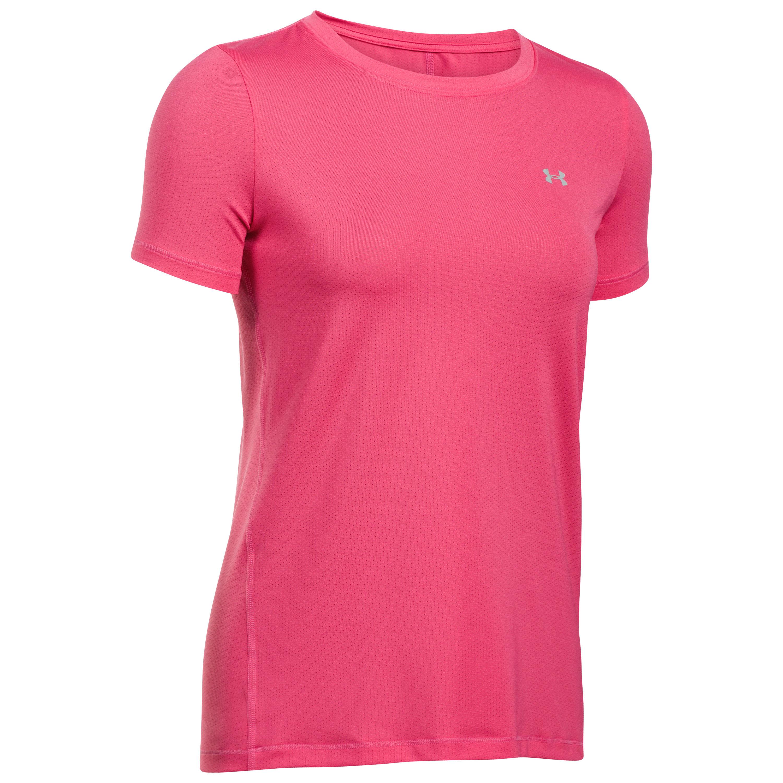 Under Armour Women T-Shirt SS HeatGear Armour pink