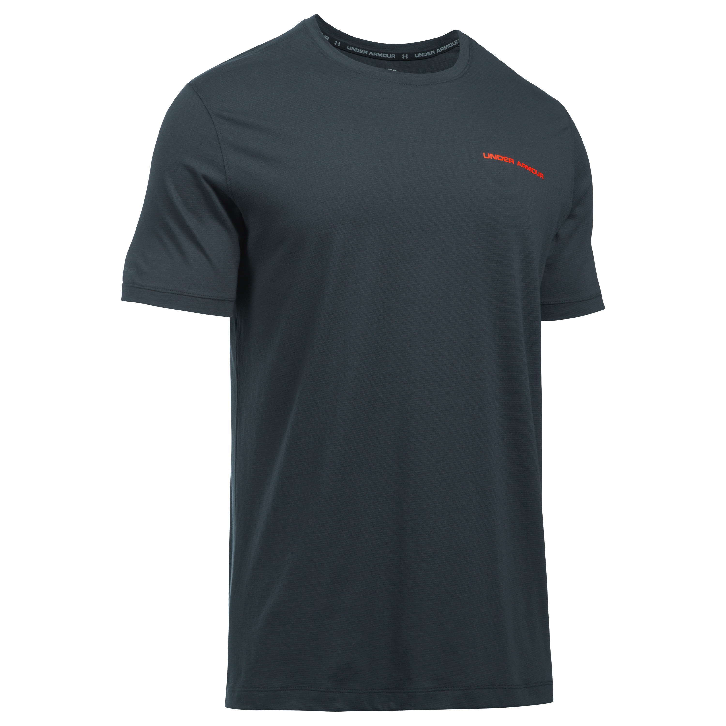 Under Armour Fitness T-Shirt Charged Cotton dunkelgrau