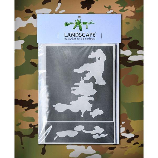 Landscape Camo Schablone multicam