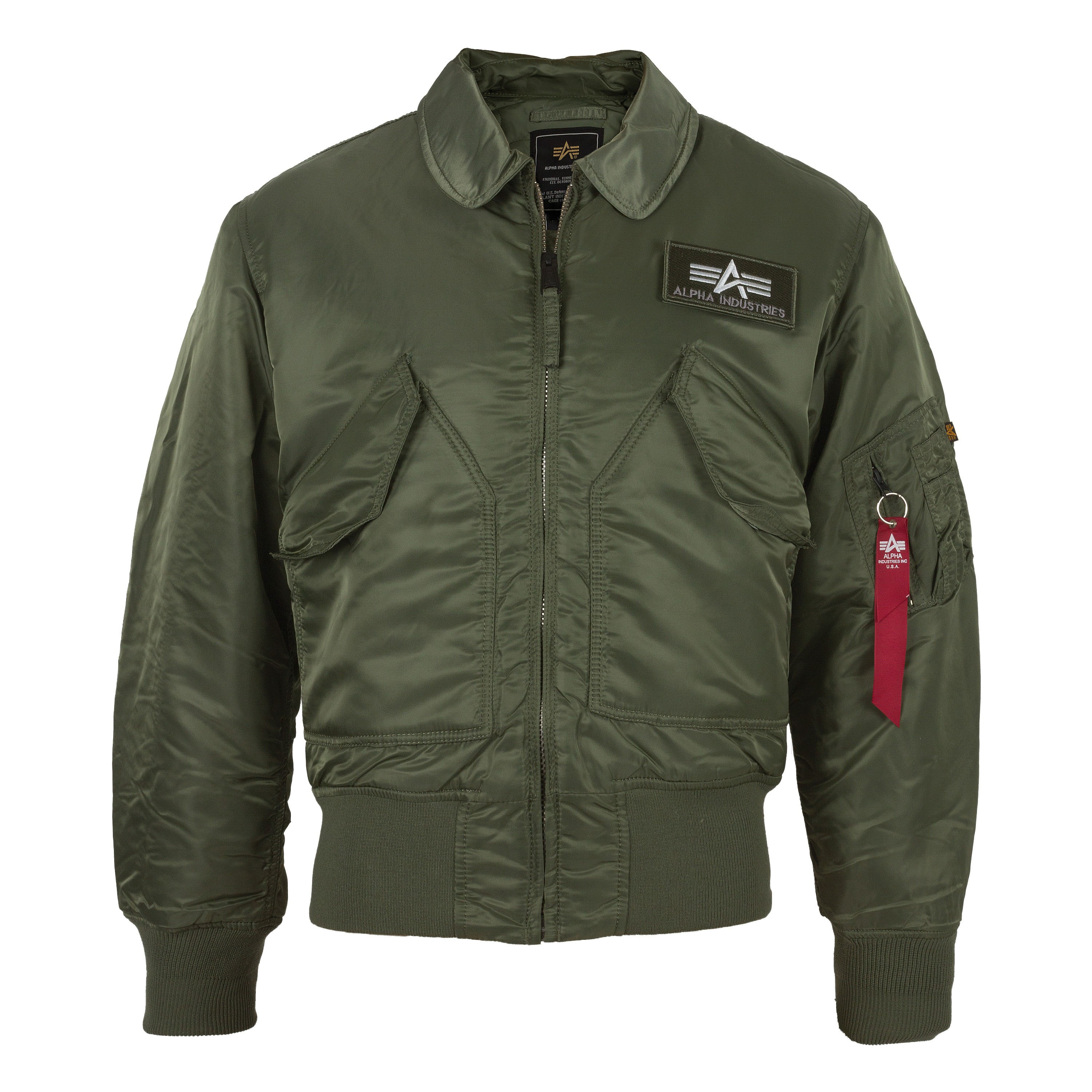 Alpha Industries Fliegerjacke CWU oliv