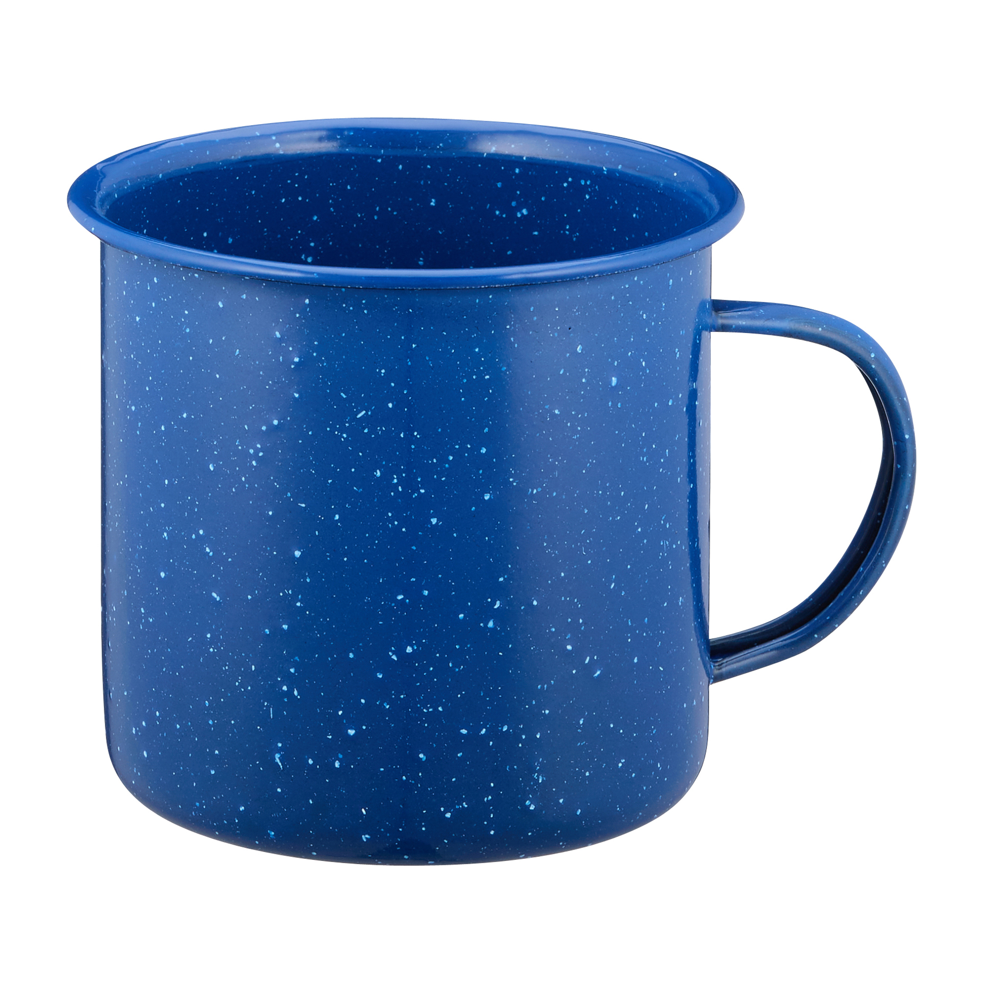 Emaille Tasse Western 680 ml blau