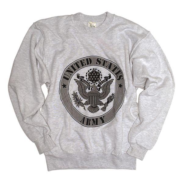 US Sweatshirt Army grau