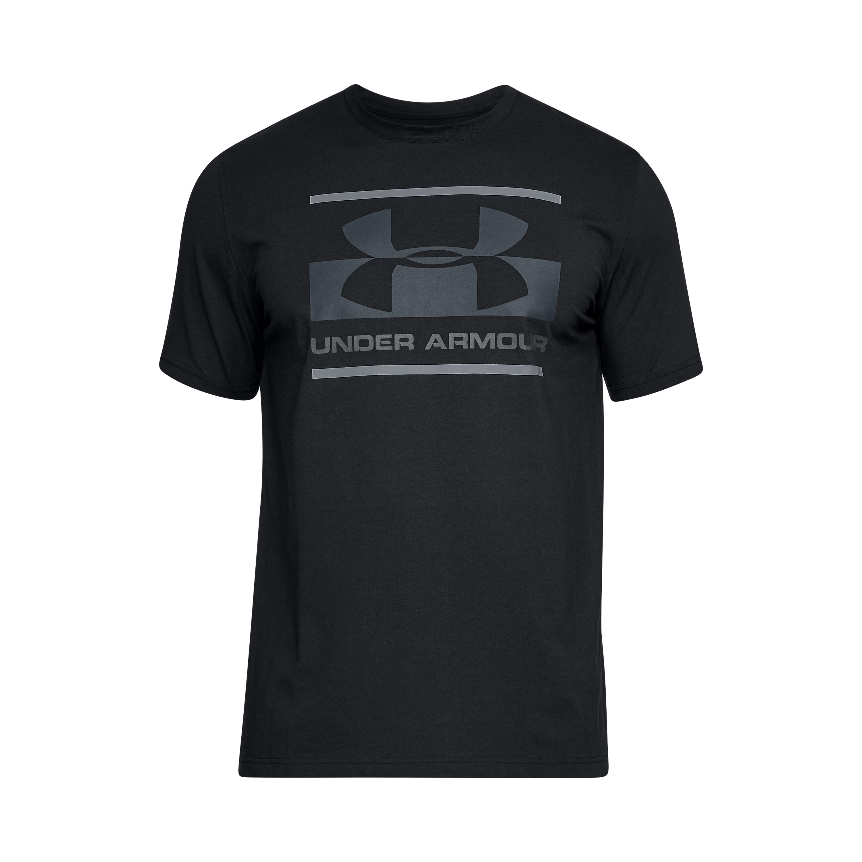 Under Armour Shirt Blocked Sportstyle schwarz