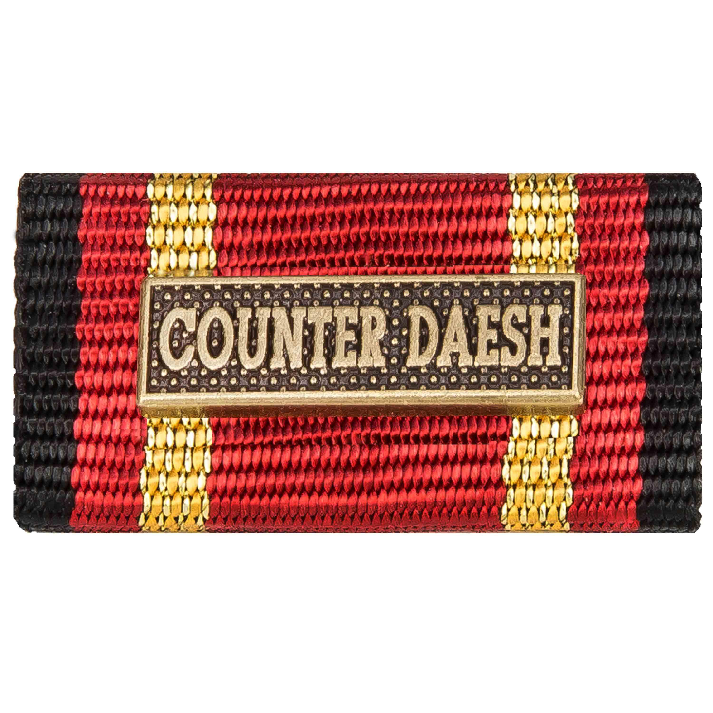 Ordensspange Auslandseinsatz COUNTER DAESH Bronze