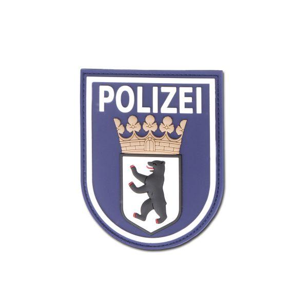 3D-Patch Polizei Berlin blau