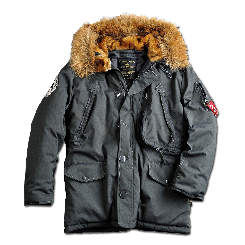 Alpha Industries Winter Parka, Winterjacke Polar Gr XL neuwertig!