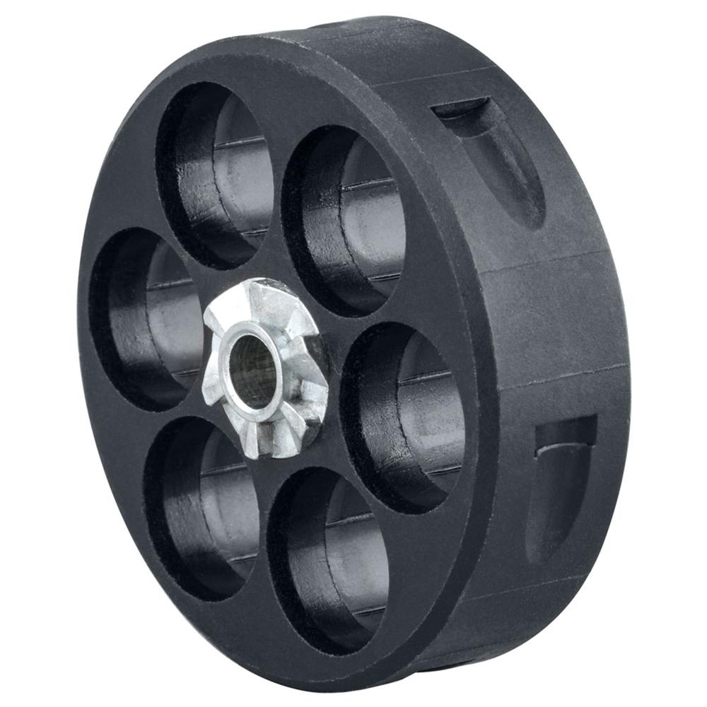 T4E Home Defense Trommelmagazin HDR50 Revolver 2er Set schwarz