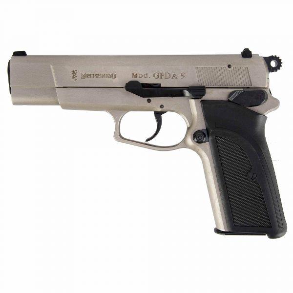Pistole Browning GPDA9 vernickelt