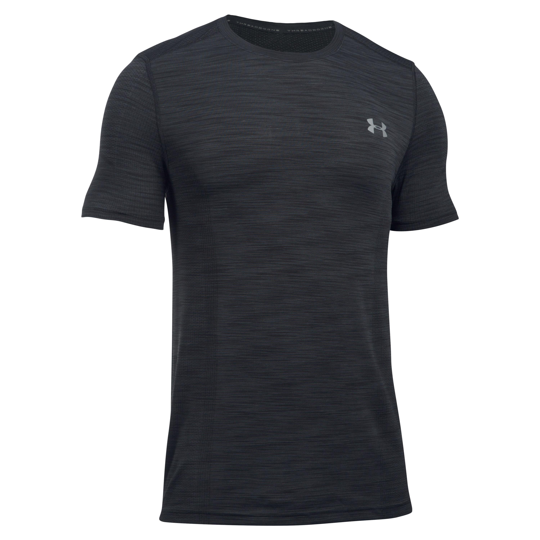 Under Armour Fitness Shirt Threadborne schwarz-grau II