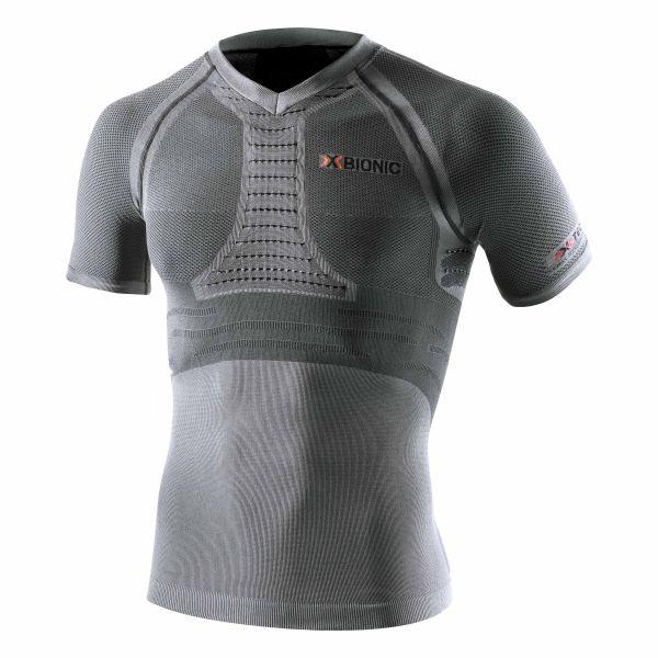 X-Bionic Shirt Running Man Fennec anthrazit silber