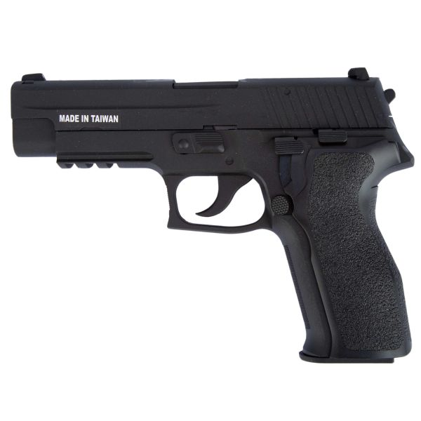 KJ Works Airsoft Pistole P226 E2 Full Metal GBB schwarz
