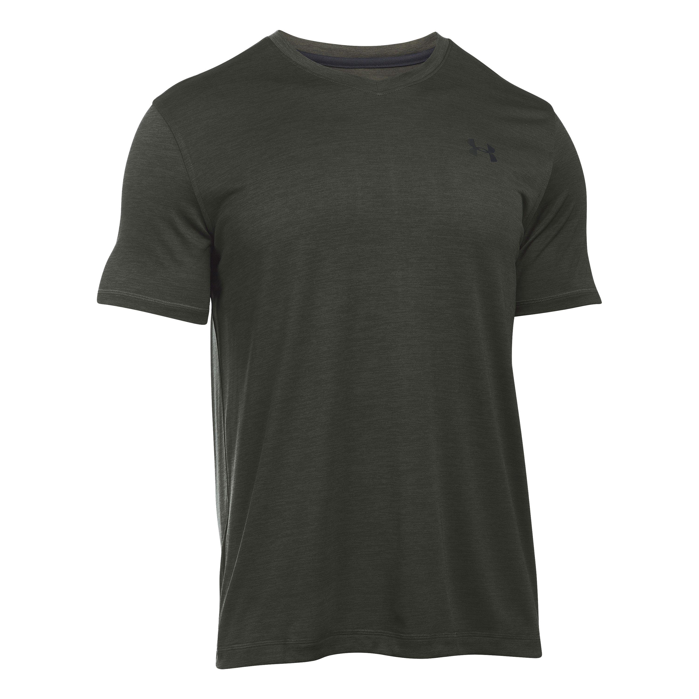 Under Armour T-Shirt Tech V-Neck grün