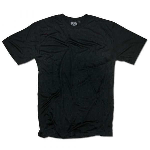 Mil-Tec T-Shirt CoolMax schwarz
