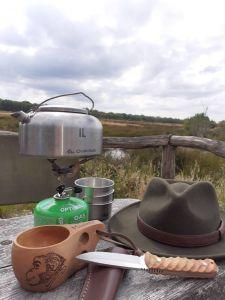 Tee im Moor