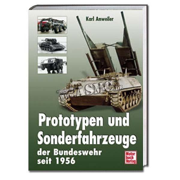 Buch Prototypen und Sonderfahrzeuge