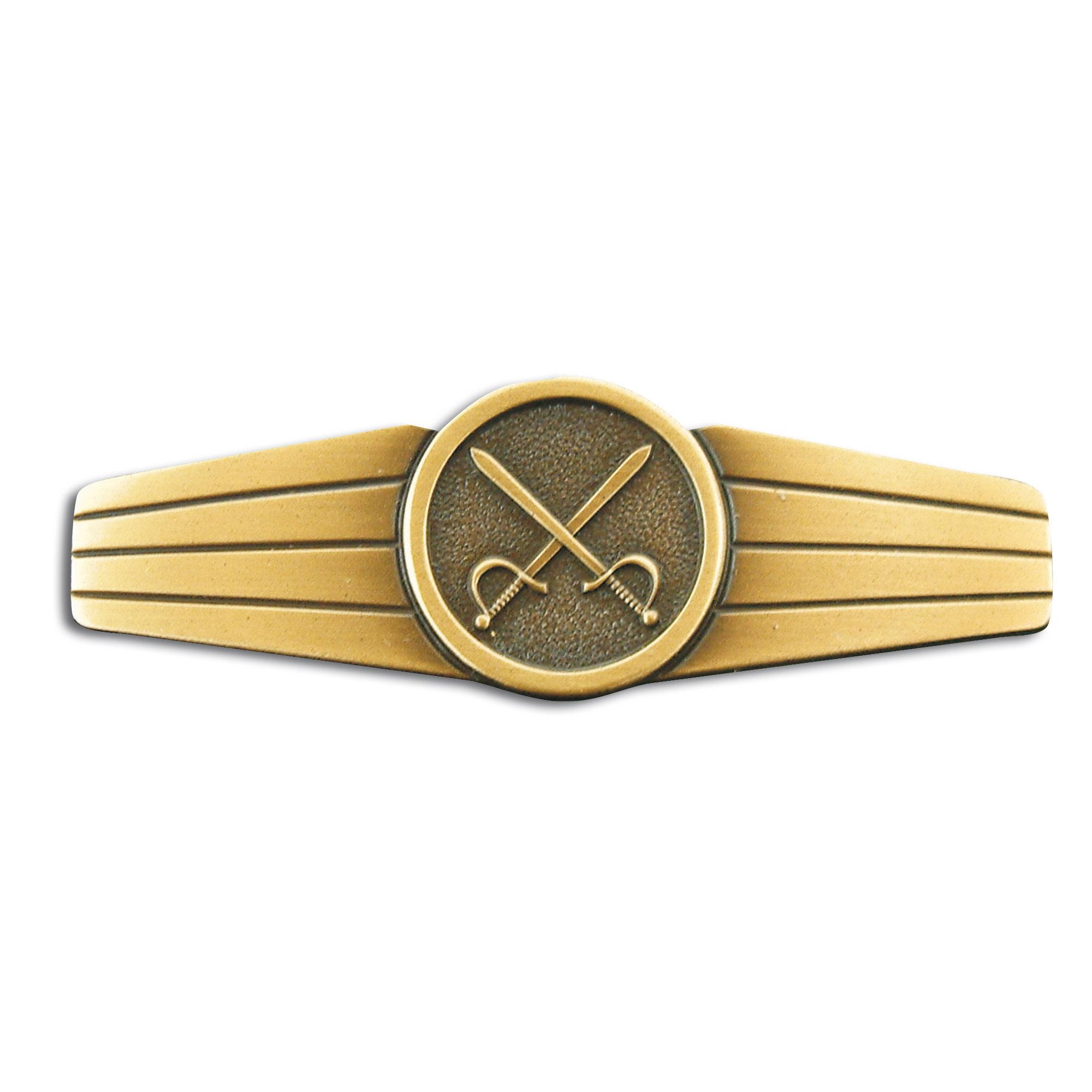 Abzeichen BW Heeresdienstpersonal Metall bronze