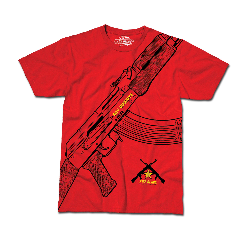 T-Shirt Say Goodbye rot