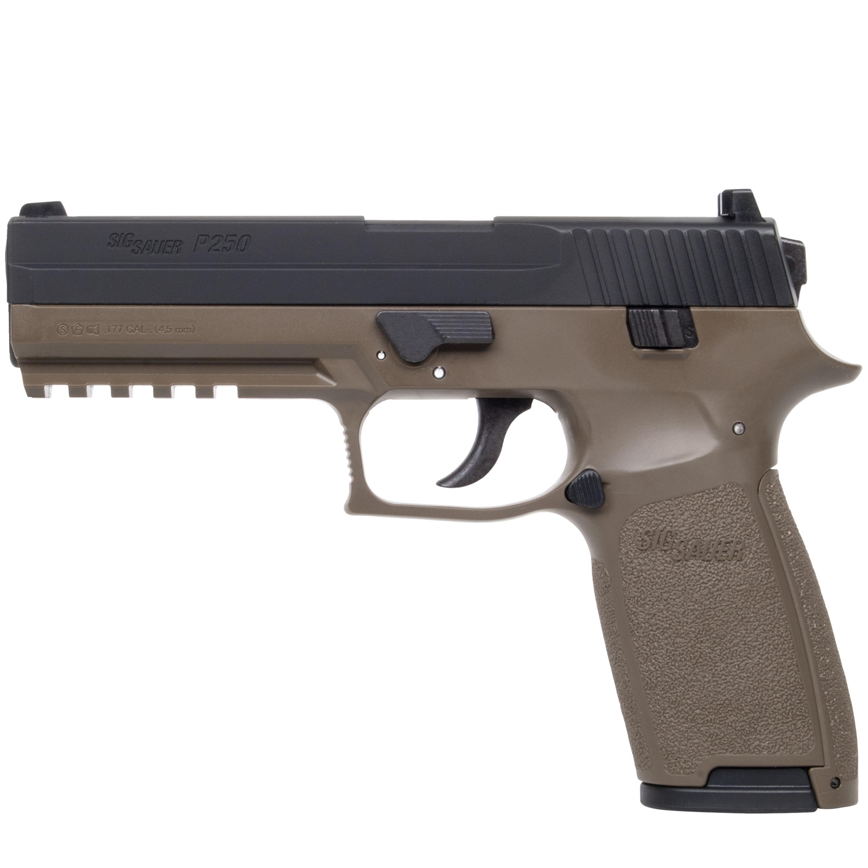 Pistole Sig Sauer P250 Co2 Dark Earth