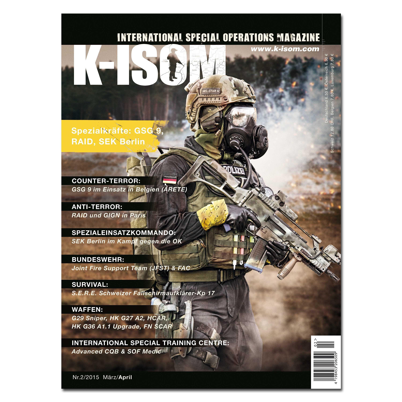 Kommando Magazin K-ISOM Ausgabe 02-2015