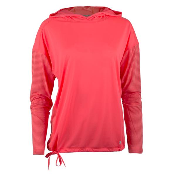 Under Armour Women Hoodie Threadborne pink