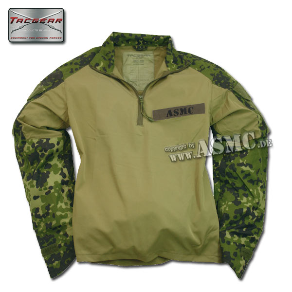 Combat Shirt TacGear dänischtarn
