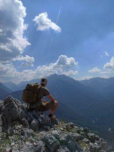Bergsteigen mit dem Lowa Zephyr