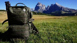 TT Combat Pack in den Alpen