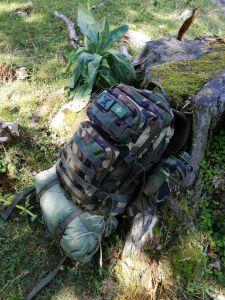 Feldflasche 1 qt woodland