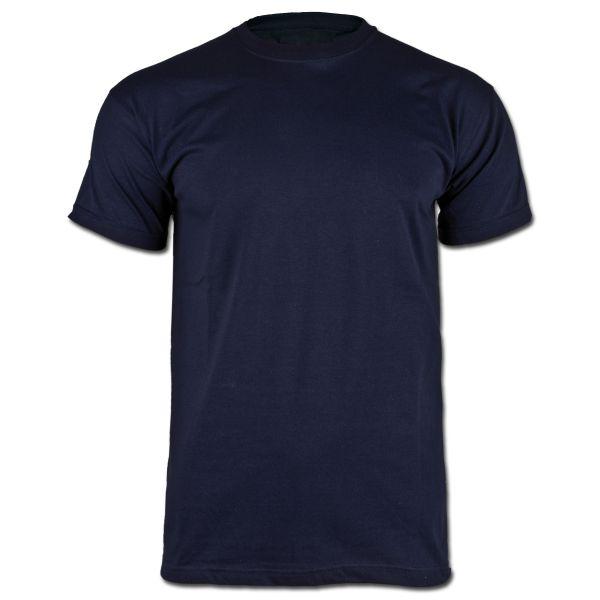 BW Unterhemd Tropen ohne Klett blau