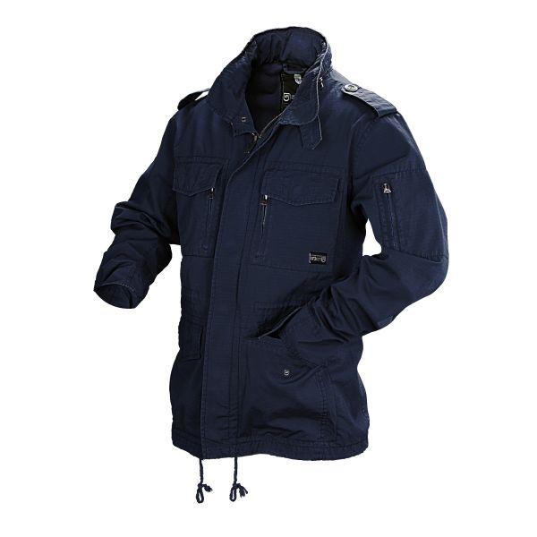 Vintage Industries Cranford Jacket blau
