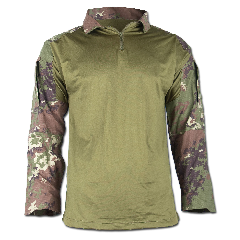 Tactical Hemd Warrior vegetato-woodland