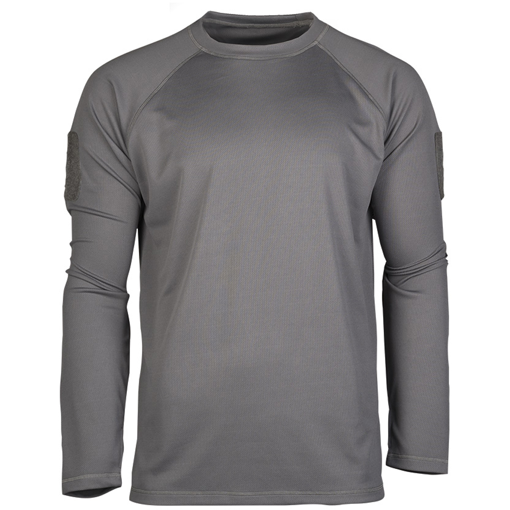 Mil-Tec Tactical Quick Dry Langarmshirt urban grey