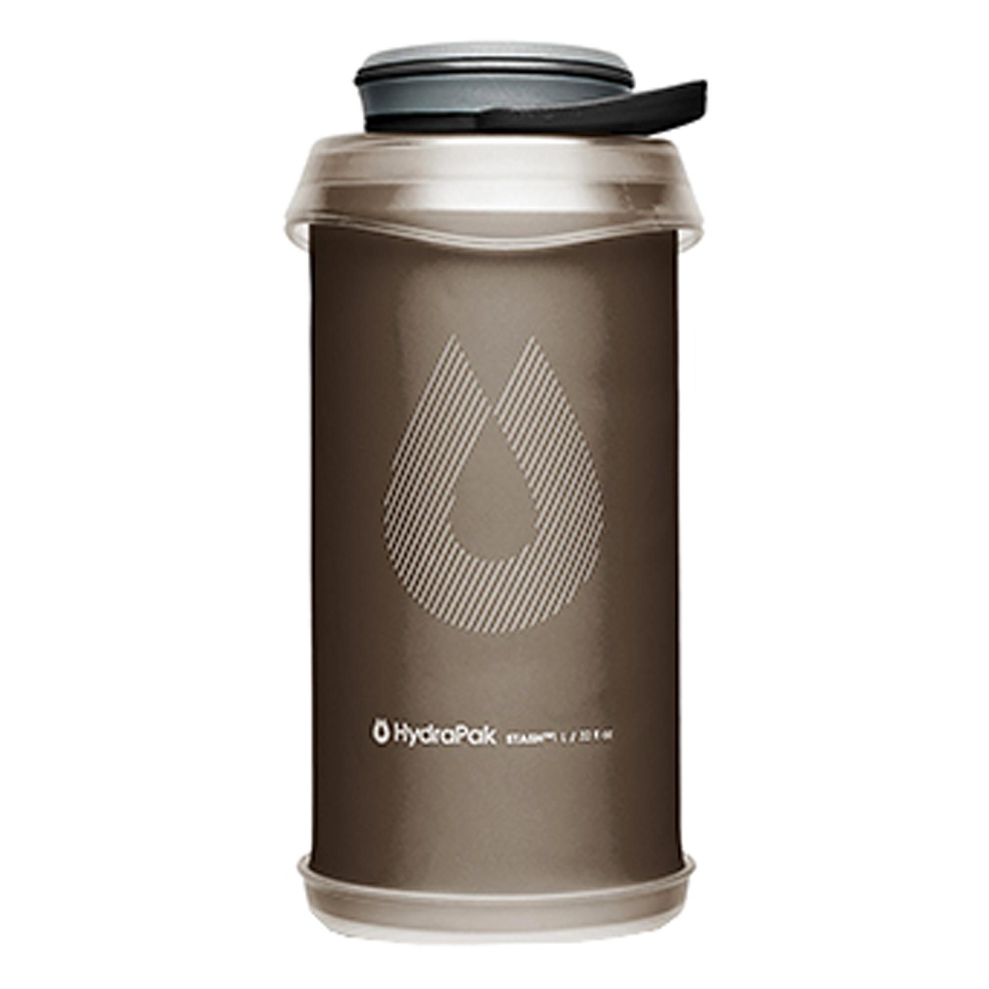 HydraPak Faltflasche Stash 1 L mammoth grey