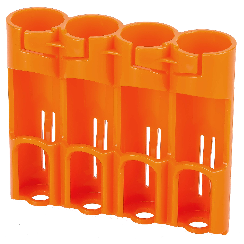 Batteriehalter Powerpax SlimLine 4 x 18650 Akku orange