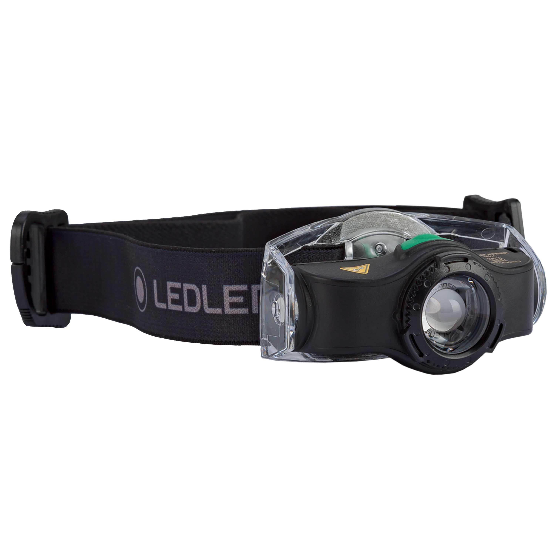 Ledlenser Stirnlampe MH4 schwarz