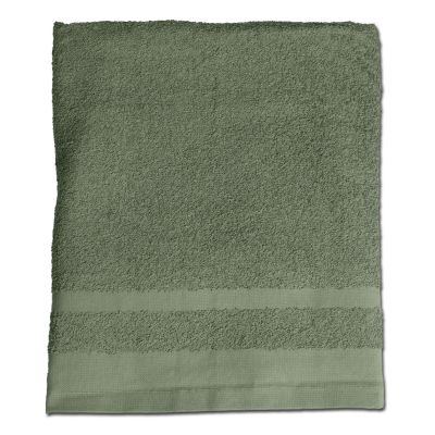 Handtuch oliv 110 x 50 cm
