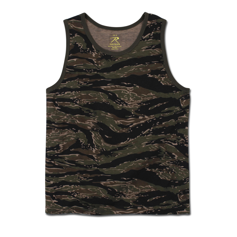 Tank Top Rothco Camo tiger stripe