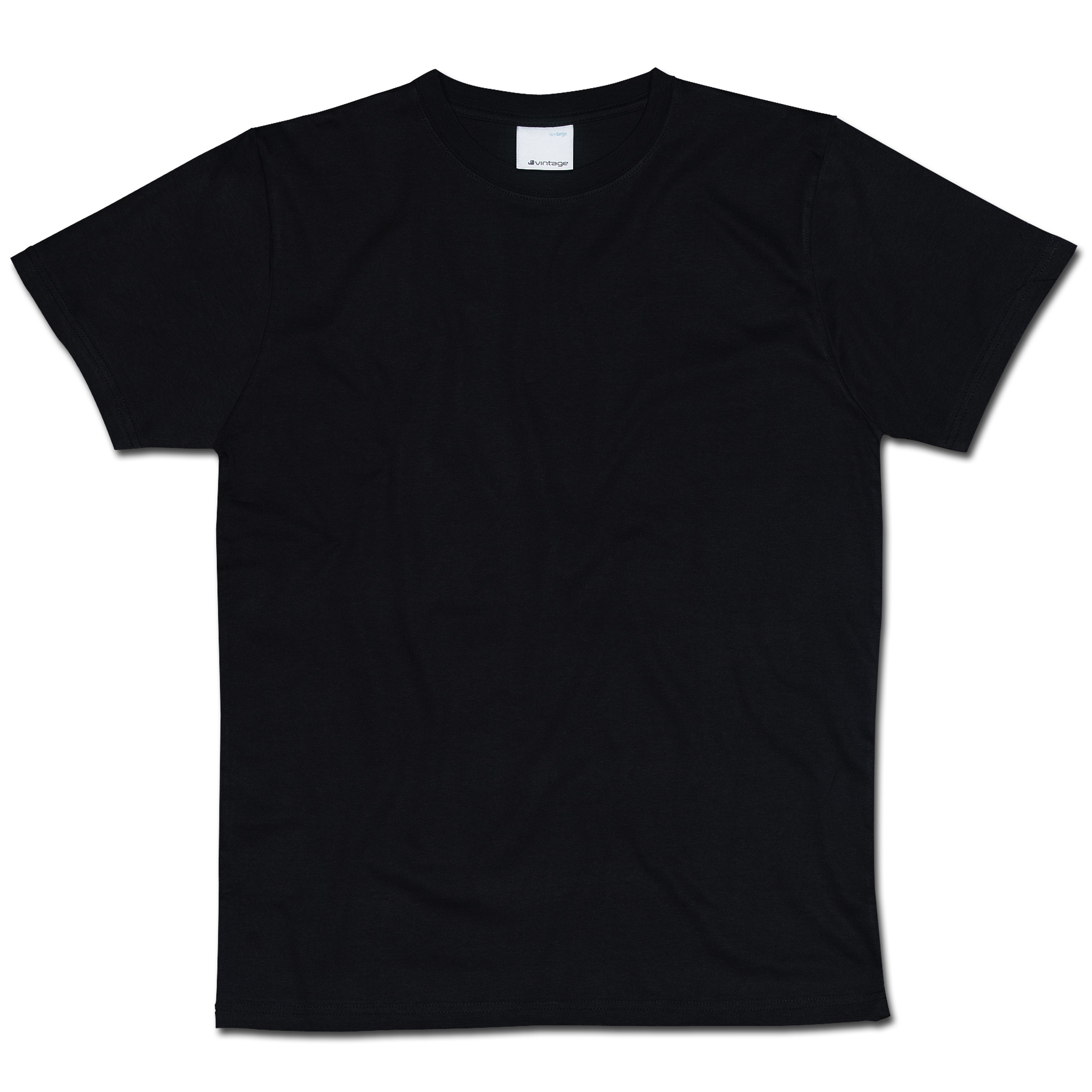 T-Shirt Vintage Industries Wing schwarz