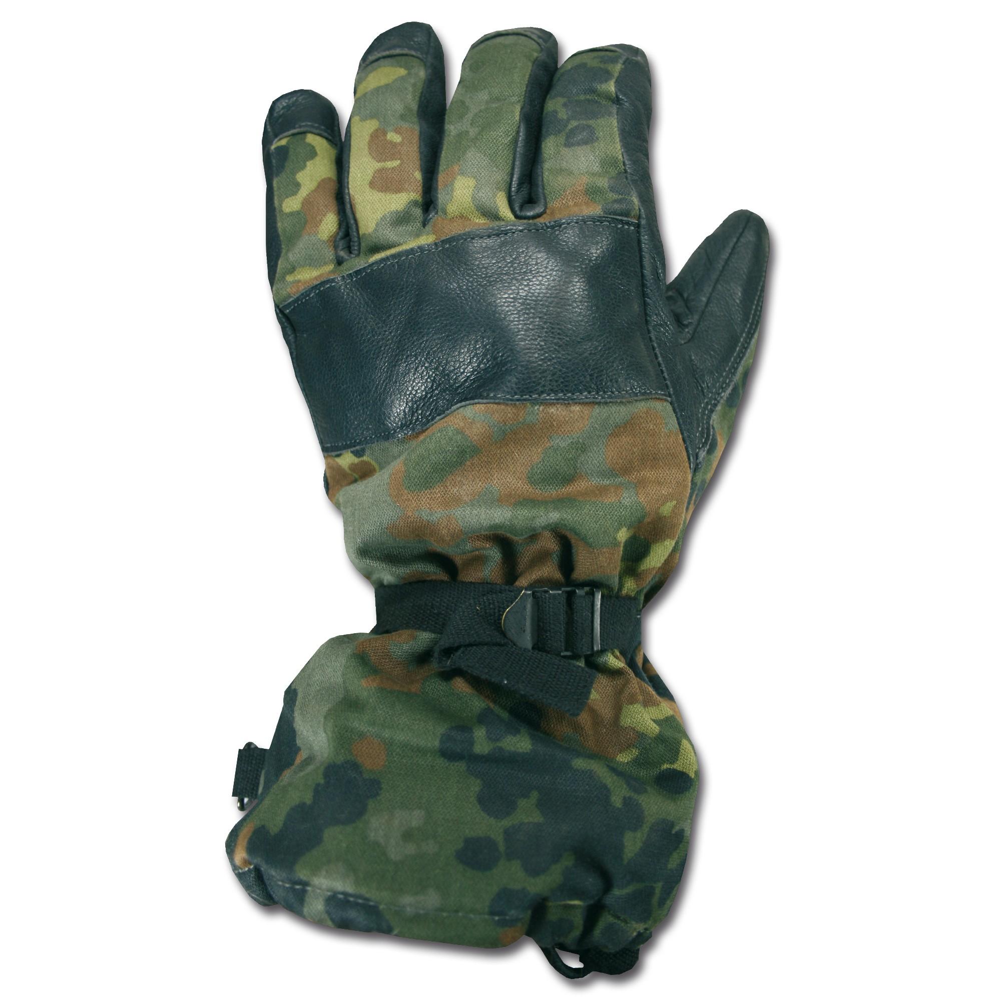 BW Kälteschutzhandschuhe flecktarn gebraucht